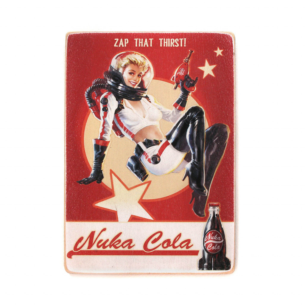 "Постер ""Fallout. Zap that thirst! Nuka Cola"""